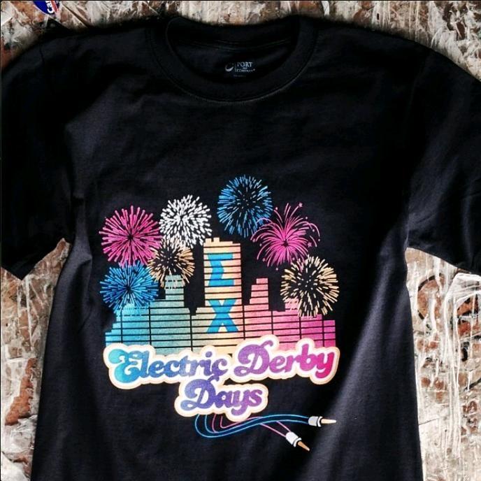 #greek101 #greeklife #fraternitiylife #sigmachi #derbydays #shirt #electric #fireworkds #skyline #philanthropy #fundraising #rutgers