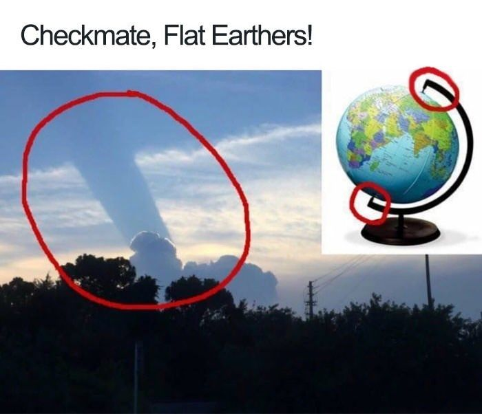 23 Flat Earth Memes That Dismantle Scientific Argument #funnymemes
