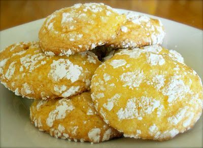 Lemon Cake Mix Cool Whip Cookies - -