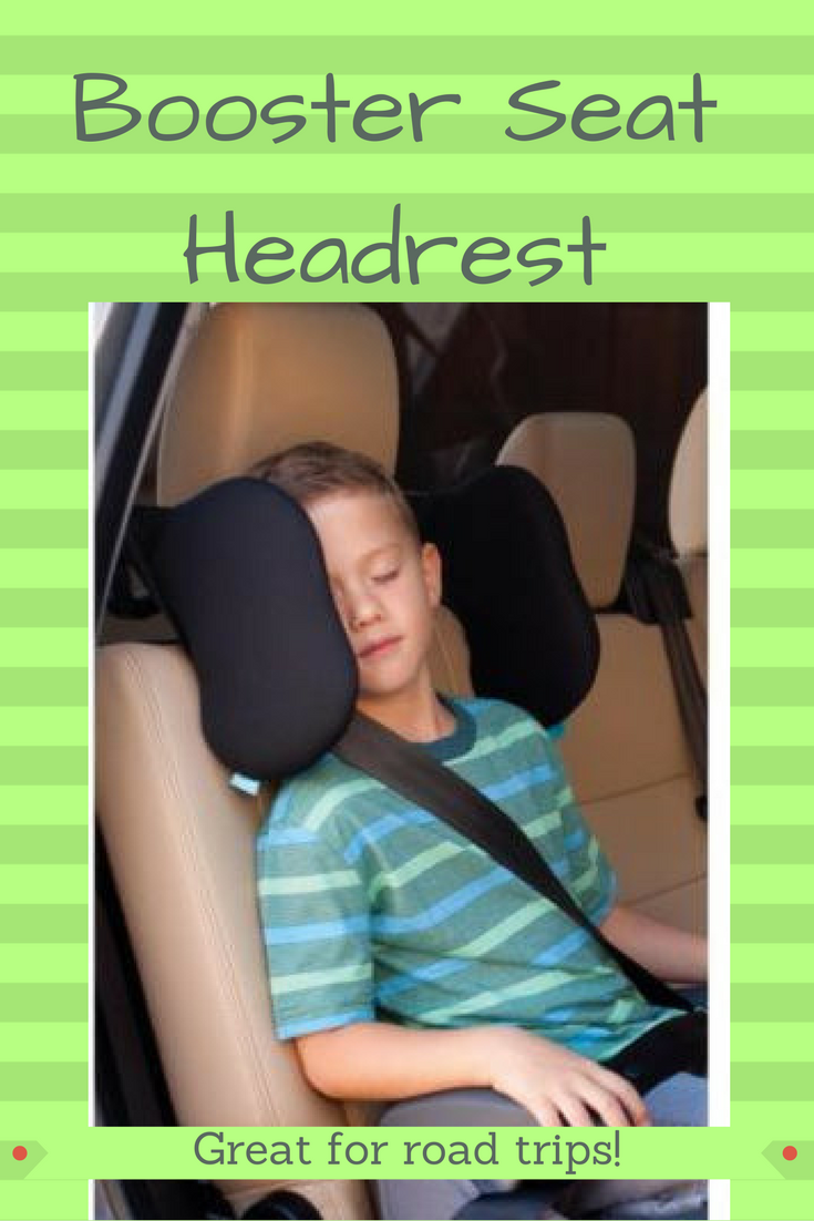This booster seat headrest is great for road trips and when your older child falls asleep in the car! Keep them from falling over by providing a safe place to rest their head.