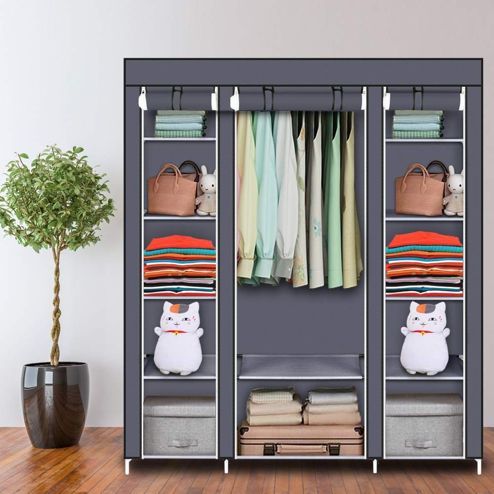 Wardrobe Storage Closet Clothes Portable Portable Closet Wardrobe Closet Storage Portable Wardrobe