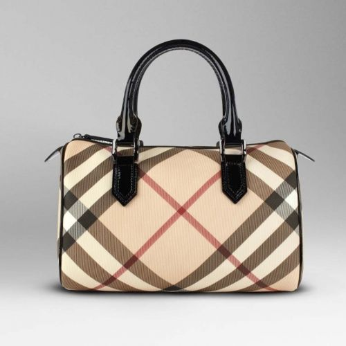 dd665d6d3583 Burberry Nova Check Bowling Bag