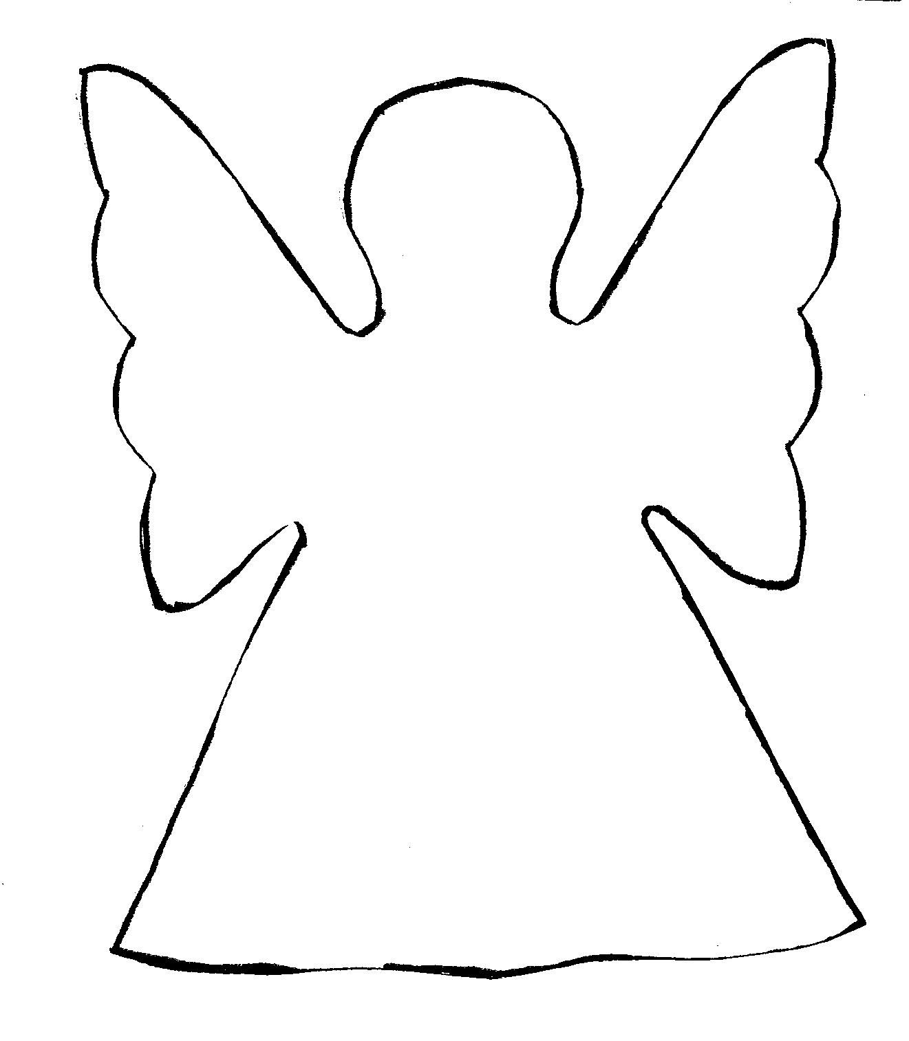 easy cut out paper angels christmas angel clip art christmas easy cut out paper angels christmas angel clip art christmas printable angel templateangel