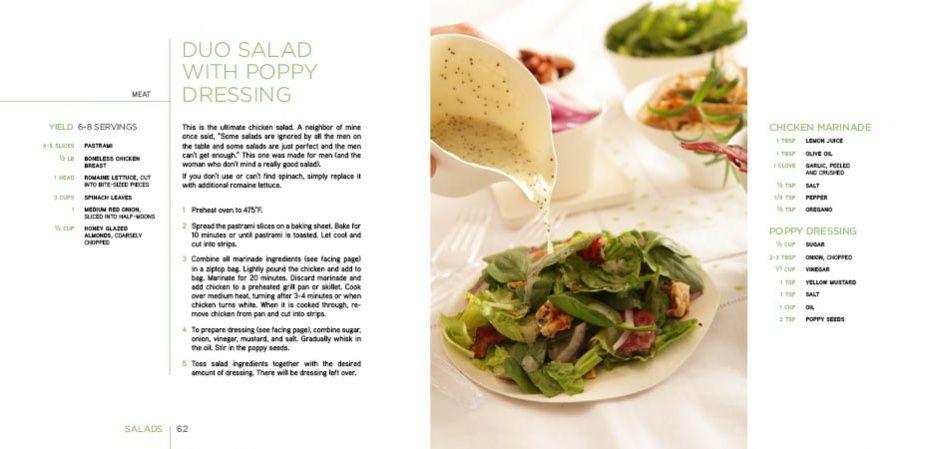 design cookbook layout - google search