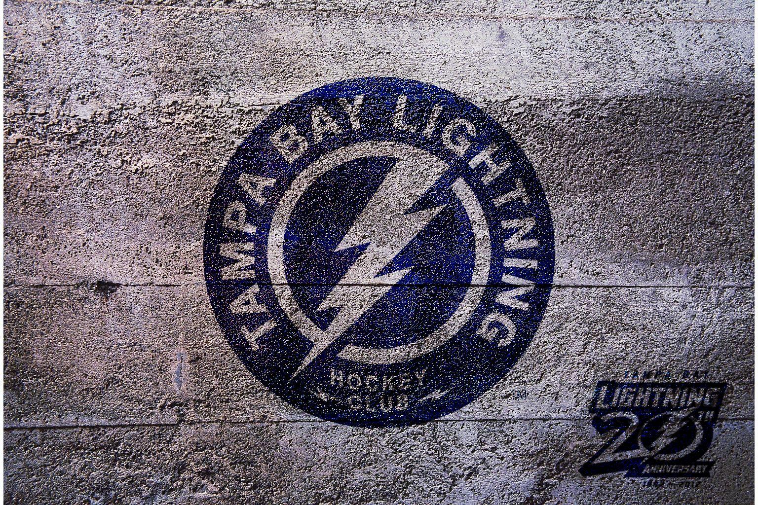 NHL Tampa Bay Lightning Shoulder Logo 2012