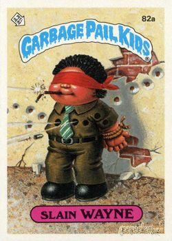 Garbage Pail Kids Original Series 2 Card Collection Garbage Pail Kids 80s Cartoons Garbage Pail Kids Cards