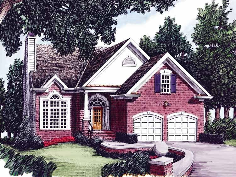 Country Style House Plan 3 Beds 2 5 Baths 1467 Sq Ft Plan 927