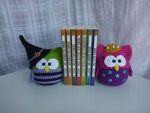 Ihr liebt Eulen und Bücher? Dann sind diese originellen Buchstützen ...