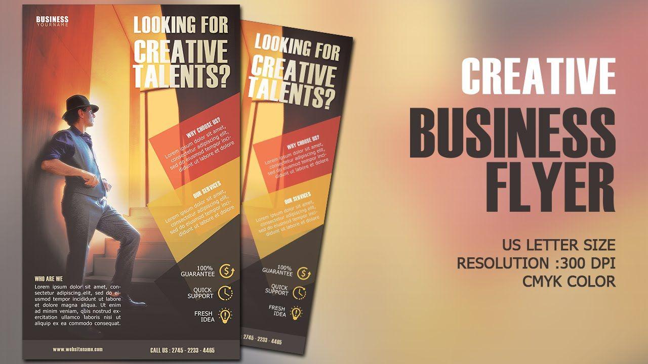Design creative business flyer cmyk photoshop tutorial photoshop design creative business flyer cmyk photoshop tutorial baditri Choice Image