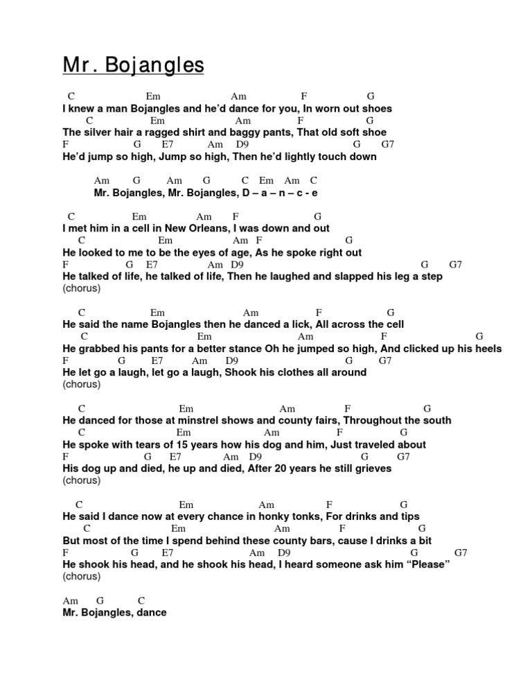 Mr Bojangles Jerry Jeff Walker Learn The Ukulele Pinterest