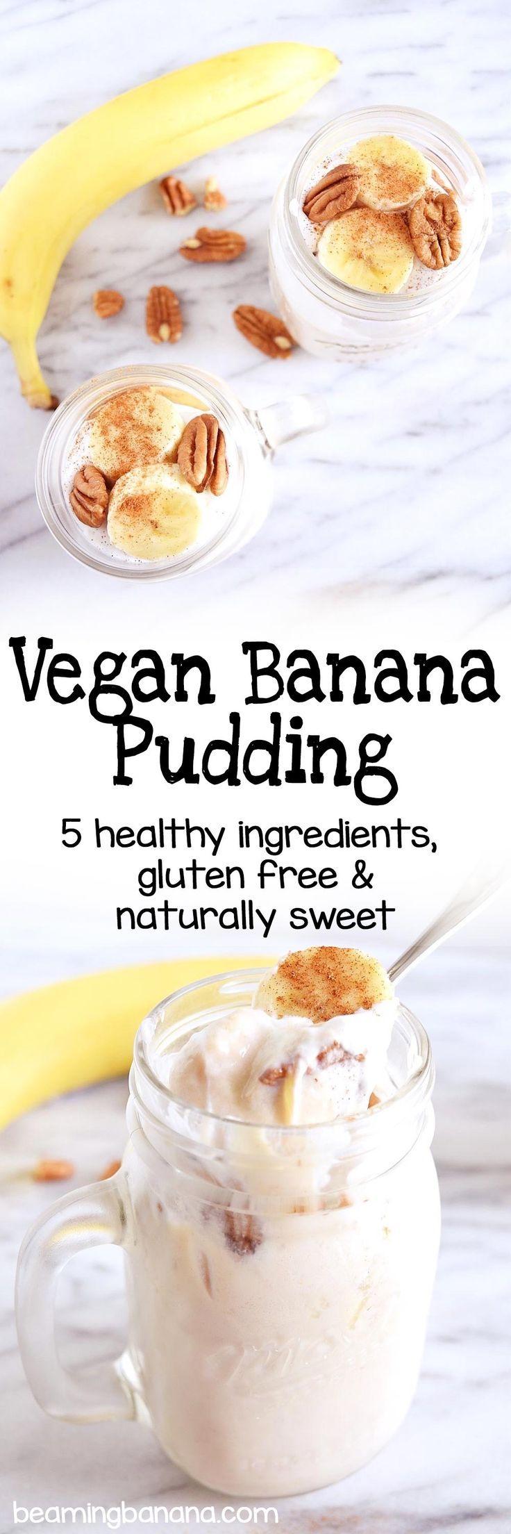 Vegan Banana Pudding Recipe Easy Dessert Recipes