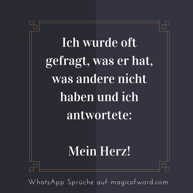 Whatsapp Status Spruch Deutsch Love