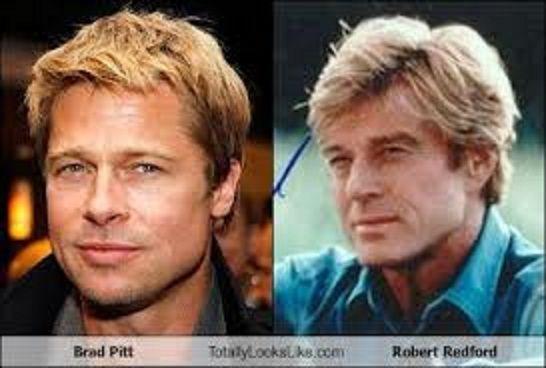 Robert Redford Brad Pitt Brad Pitt and Robert R...