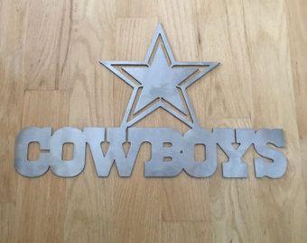 Dallas Cowboys Wall Art torched metal wall art by MetalArtDesignz & Dallas Cowboys Wall Art torched metal wall art by MetalArtDesignz ...