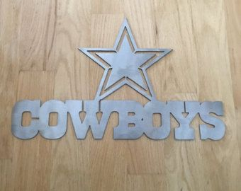 Dallas Cowboys Wall Art dallas cowboys wall art torched metal wall artmetalartdesignz