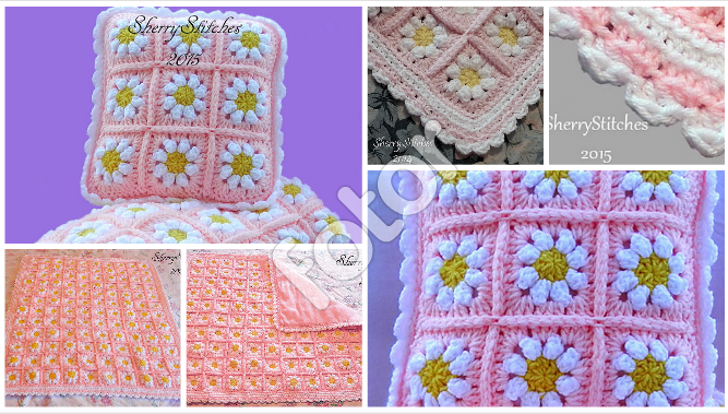 This Crochet Daisy Flower Blanket Looks So Fresh And Pretty For