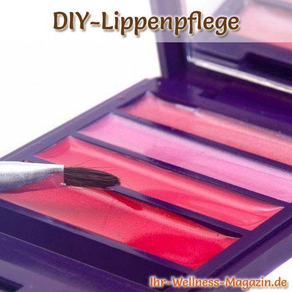 Lippenpflege selber machen - Lippenpflege Rezept für Rosa Lipgloss, zaubert Glanz und einen Hauch Farbe auf Ihre Lippen ...