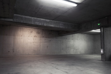 Abstract Empty Garage Interior Background Garage Interior Photo Wallpaper Garage