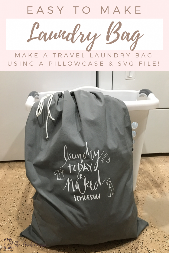 Diy Pillowcase Laundry Bag Laundry Bags Diy Travel Laundry Bag