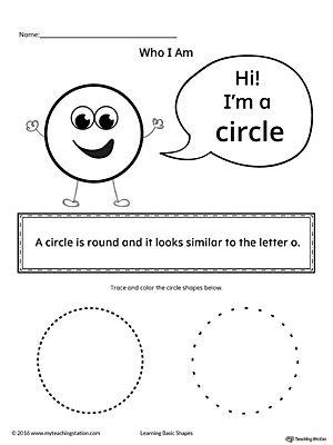 learning basic geometric shape circle geometric shapes shapes worksheets learning shapes. Black Bedroom Furniture Sets. Home Design Ideas