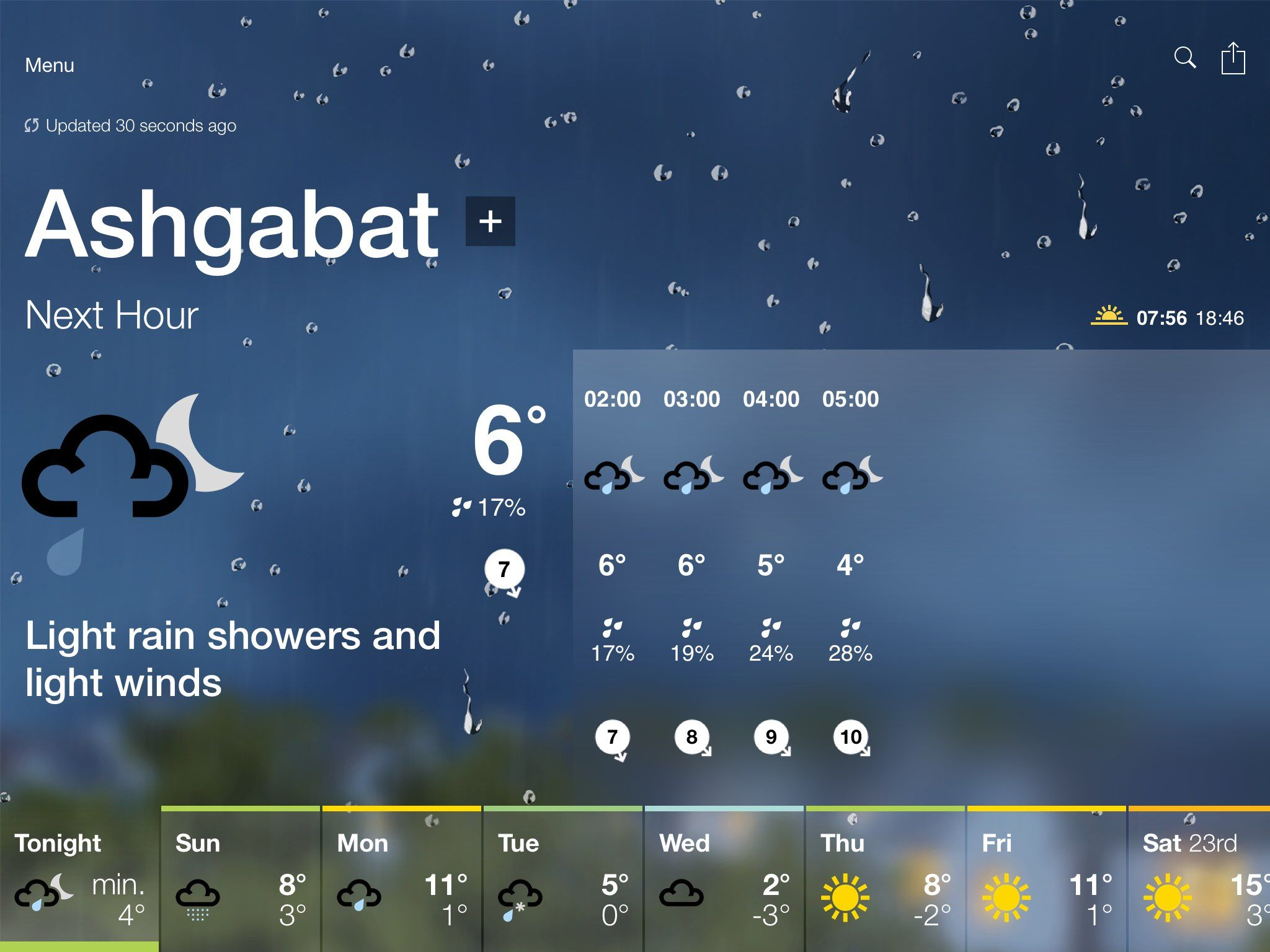 Bbc Weather Forecast For Ashgabat Turkmenistan Tonight Light