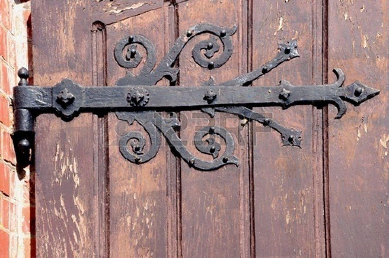 Wrought Iron Strap Hinges Antique Google Search Decorative Hinges Wooden Doors Rustic Door Hardware