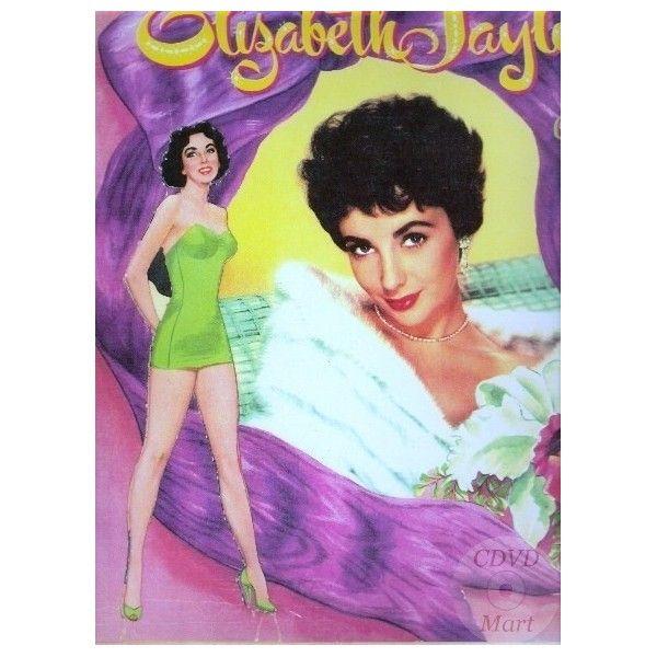 1953 Elizabeth Taylor paper doll / cdvdmart.com