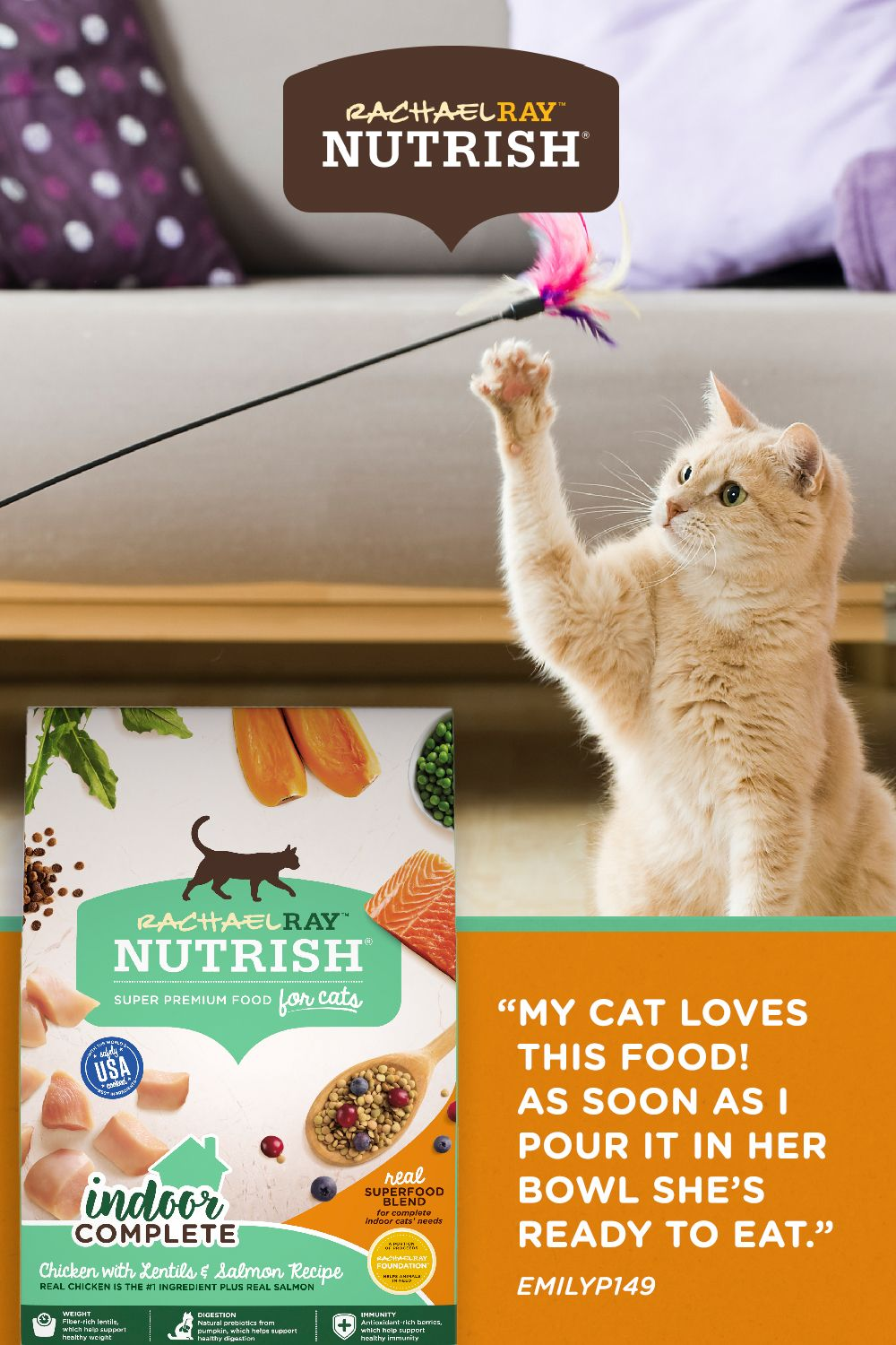 The Real Ingredients Cats Crave In 2020 Premium Food Salmon Recipes Cat Food