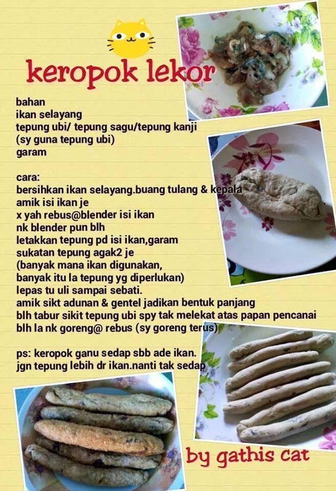 Keropok Lekor Home Made Food Malay Food Food Recipes