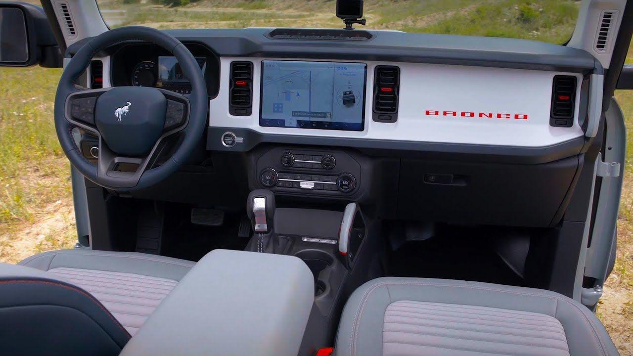 2021 Ford Bronco 2door, 4door and Sport INTERIOR