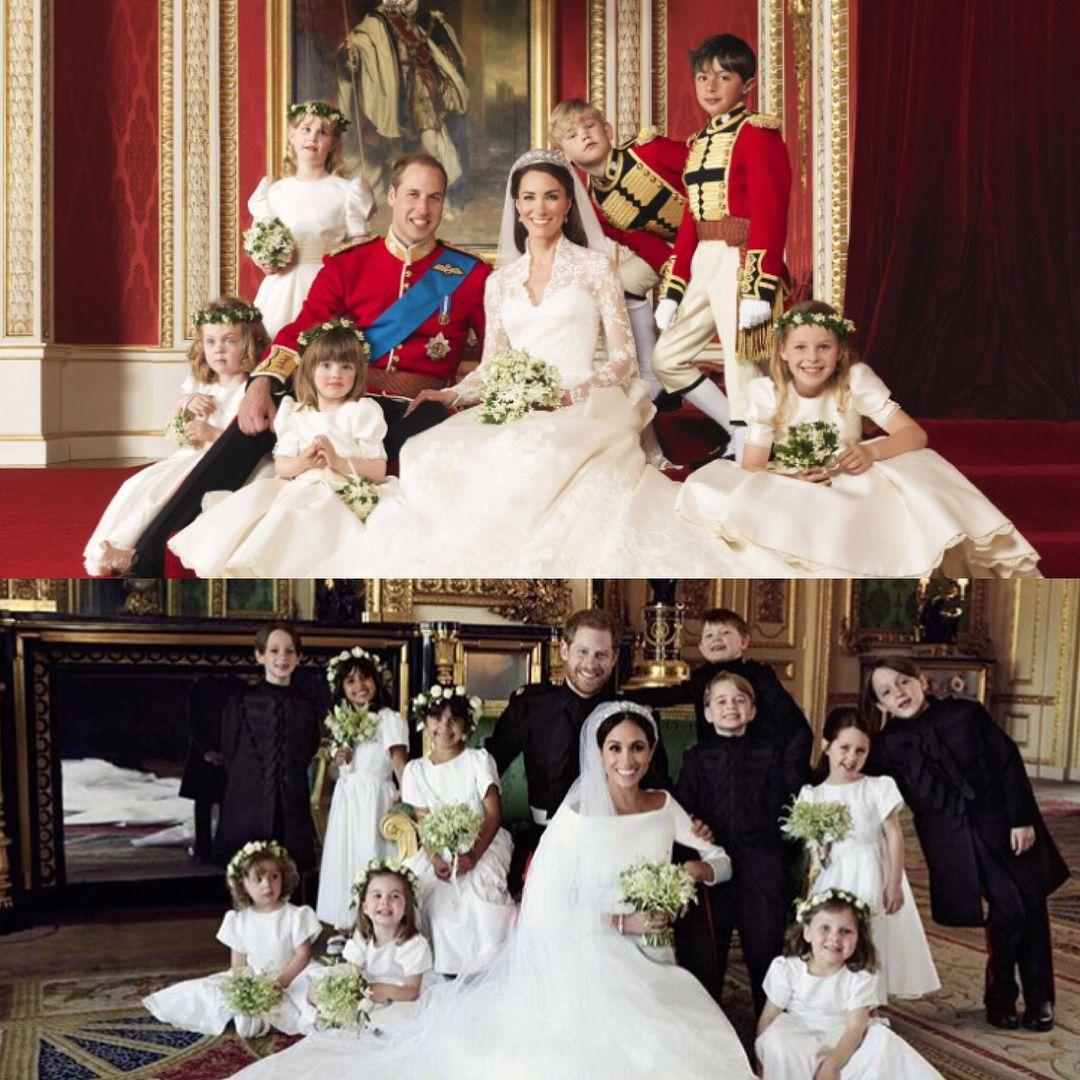 .William & Harry's Official Wedding Photos.