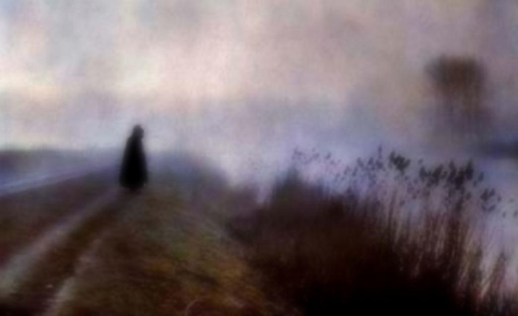 Antonin Personnaz • Monk under Fog Autochrome 1915