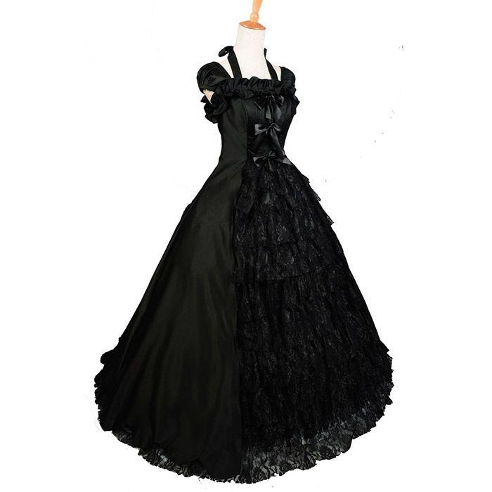 gothic victorian dress halloween costume - Halloween Costumes Victorian