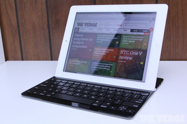 The new Ultrathin Keyboard and Cover for iPad from Logitech.