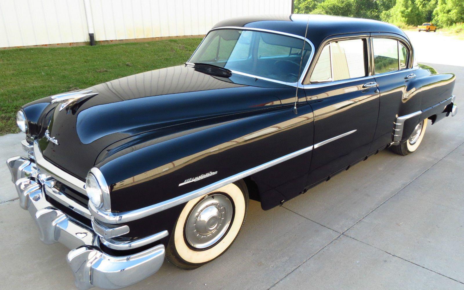 Car Brand Auctioned Chrysler Windsor Deluxe 1953 Car Model