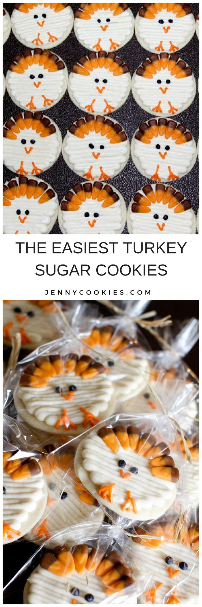 you turkey | Jenny Cookies (creative cookies for kids)
