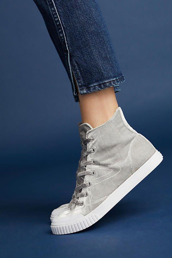 Tretorn Marley Velvet Sneakers