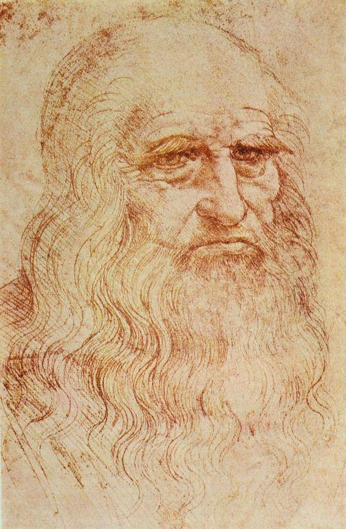 Portrait Of A Man In Red Chalk Google Search Leonardo Da Vinci Autoritratti Artisti Famosi
