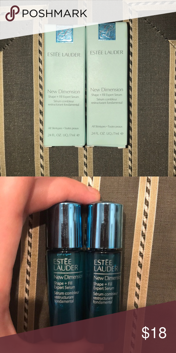 BEAND NEW ESTEE LAUDER SERUM Brand New ESTEE LAUDER New Dimension  shape+fill expert serum dc4b92d13ccf