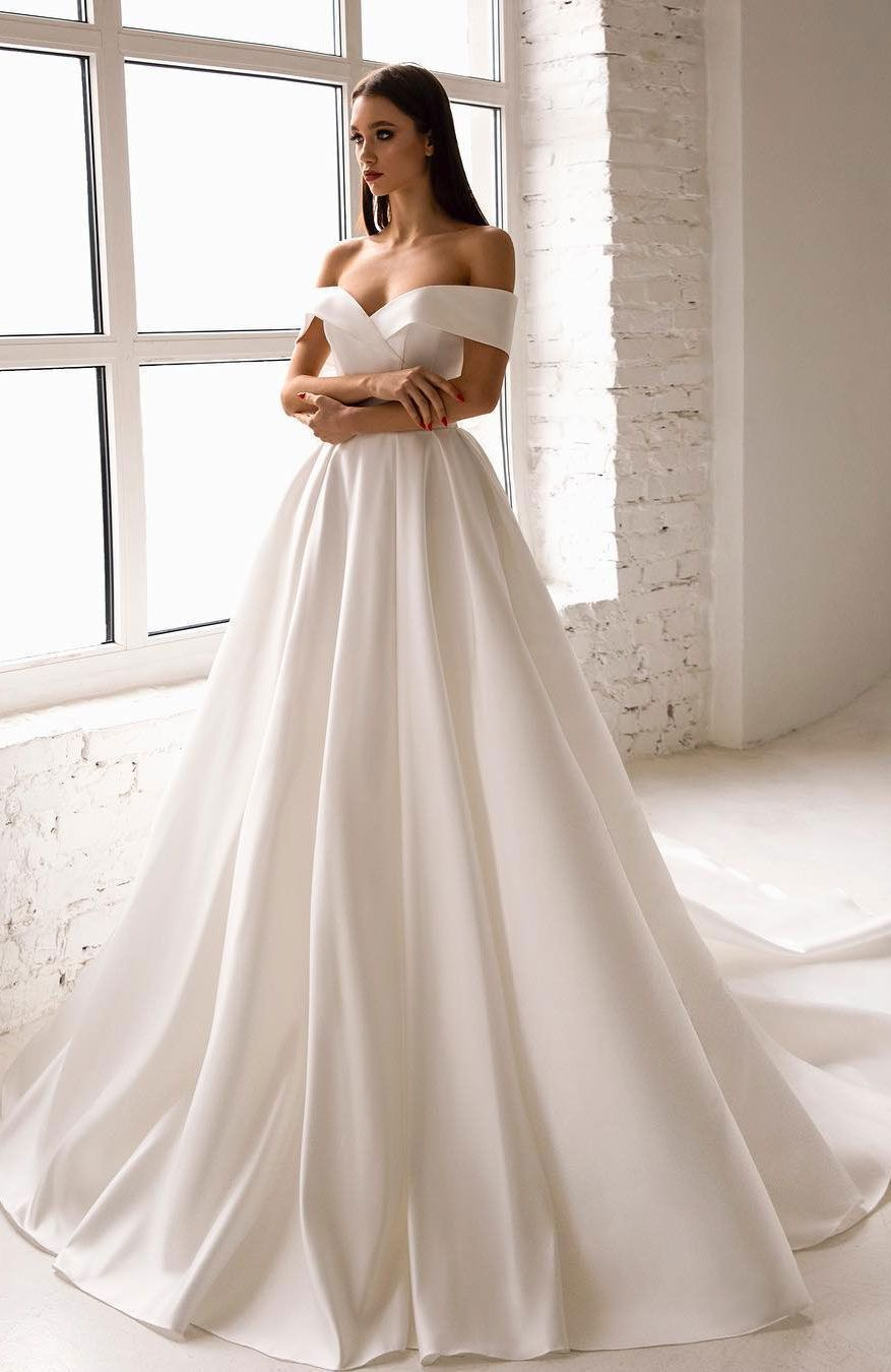 48 Off The Shoulder Wedding Dresses To Rock