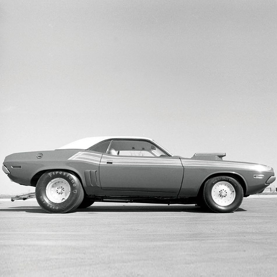Steve Lisk's Hemi Challenger. This Car Beat Itself Into My