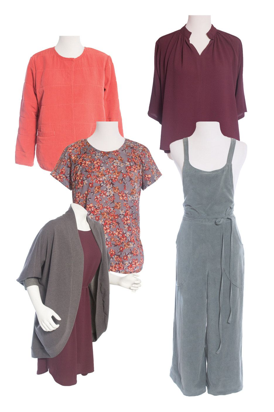 Fall/Winter Collection 2017 Sewing Pattern | Sewing patterns, Sewing ...