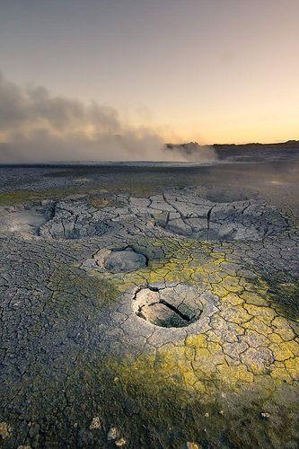 Gunnuhver - center of the Reykjanes Volcanic System - Iceland