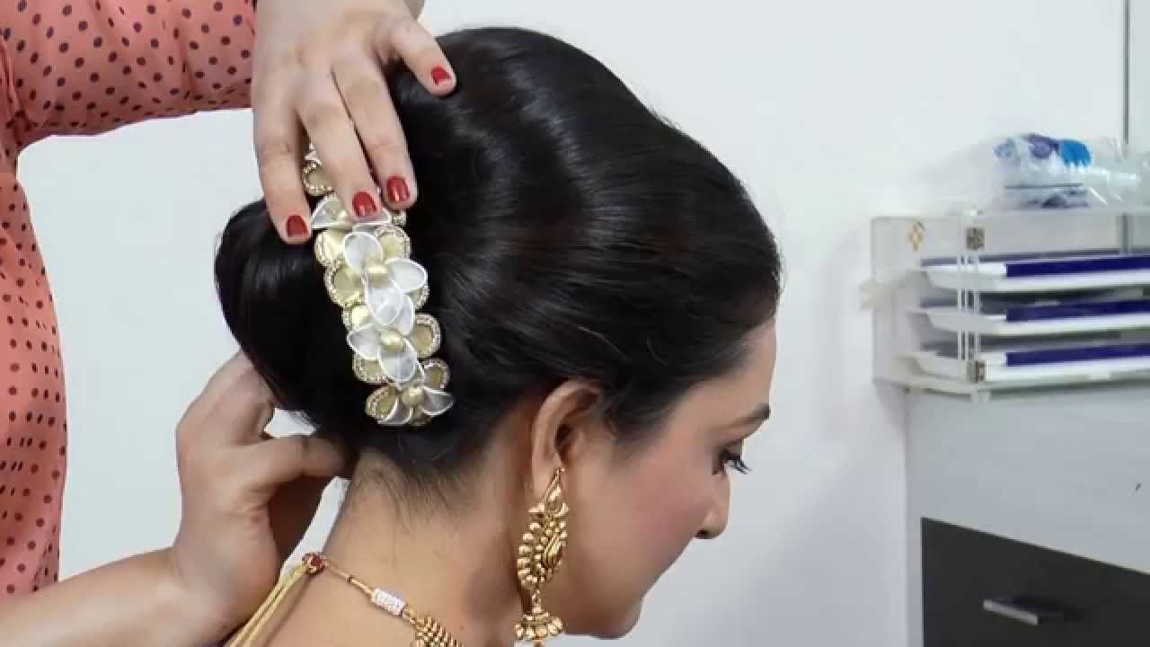 indian-asian bridal hairstyle tutorial. - youtube   bridal