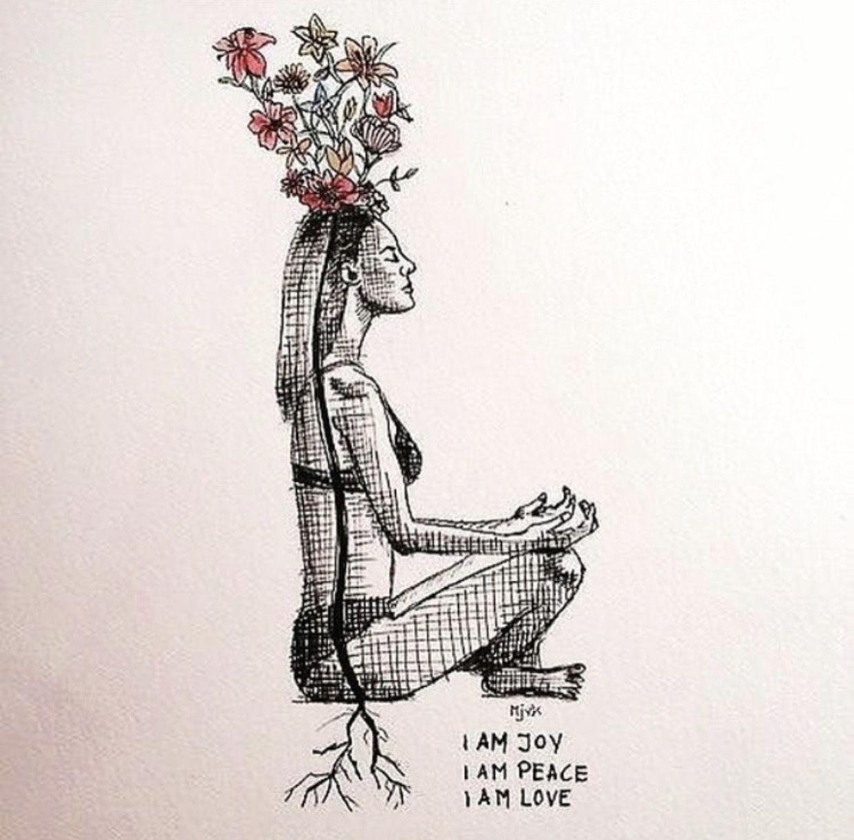 Centered Spiritual Tattoos Yoga Inspiration Yoga Nidra