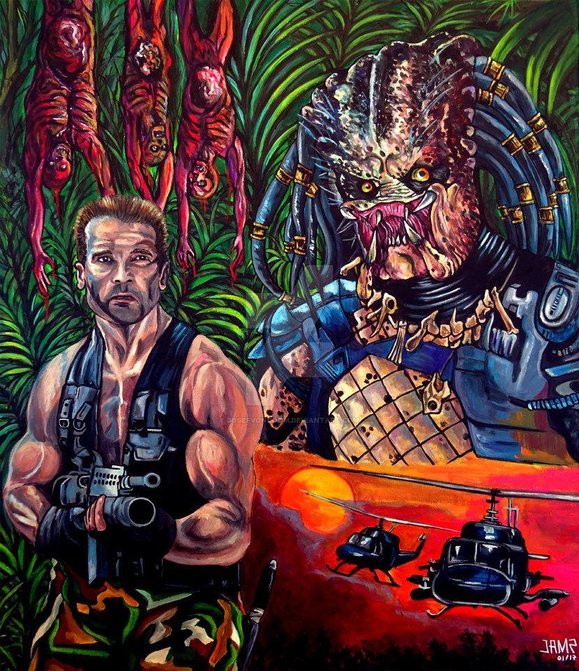 Predator 1987 By JosefVonDoom On DeviantArt