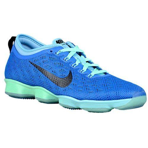 nike zoom in agilità sz 12 donne formazione scarpe blu nuova croce