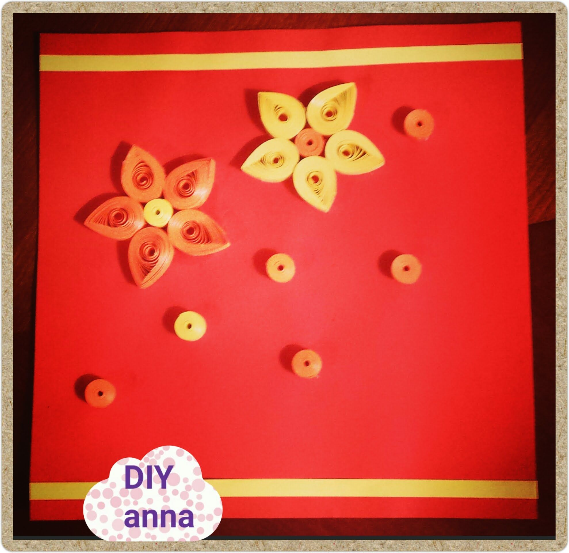 Quilling Paper Card Flower Diy Ideas Decorations Tutorial Easy To