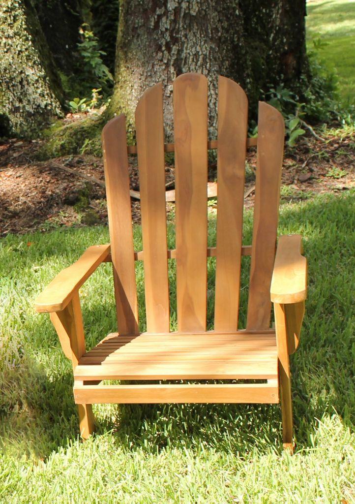 Teak Adirondack Chair | Oceanic Teak Furniture