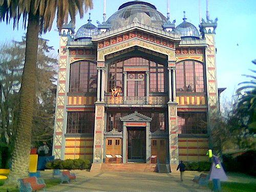 Pabellon Chile Paris 1889